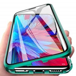 Huawei P30 Magnetiskt 360° skydd Härdat glas GRÖN