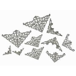 50 metallhörn - STORPACK - 5 olika storlekar