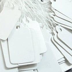 Etiketter - tags - STORPACK - 100 stycken