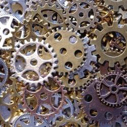 STORPACK Kugghjul till dekoration 50 stycken! Steampunk