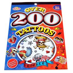 200 st Tatueringar/Tattoos Rocker multifärg