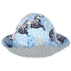 Mumin Blomstergalopp-hatt blå Blue 52/54