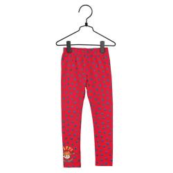 Pippi Långstrump Prickigt-leggings röd/blå Red 86