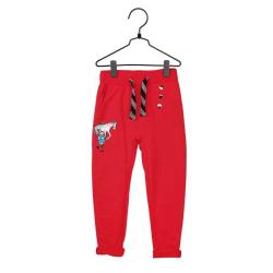 Pippi Långstrump Starka Pippi-byxa röd Red 86