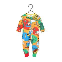 Pippi Långstrump Villekulla Pyjamas (Orange) 92 cl, Martinex multifärg
