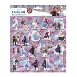 Skum klistermärken Frozen II Lila