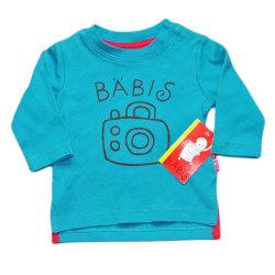 T-shirt m .lång ärm Kamera Blue 56