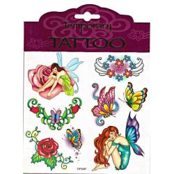 Tattoos Fantasy Love- fjärilar