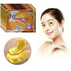 Ögonmask Crystal Collagen 24K guld-2 förpackning