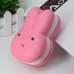 Stressboll / Klämboll-Kanin Rosa 12cm