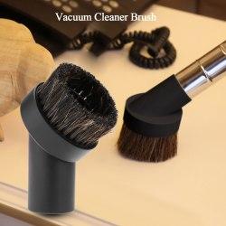 1pc Vacuum Cleaner Accessory Horsehair Brush Floor Dust Brus