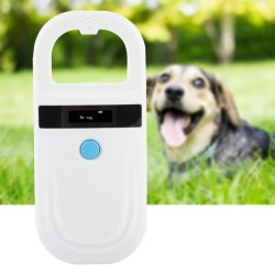 Rechargeable Animal Chip ID Scanner Microchip Scanner Pet Ta