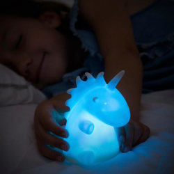 Enhörning Nattlampa för barn - Multicolor Lampa LED