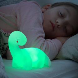 InnovaGoods Dinosaurie Nattlampa för barn - Multicolor Lampa LED