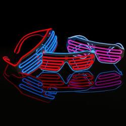 Neon Festglasögonen - Fest Led Glasögon