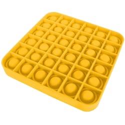 Pop it Leksak Fidget Toys - Fyrkant Bubble Push Pop Leksak CE Gul
