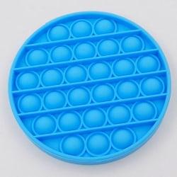 Pop it - Silikon Bubbla Leksak Blå