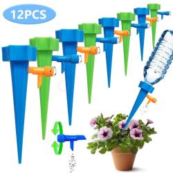 12x Automatisk Bevattning för dina Blommor