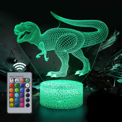 nattlampa för barn, dinosaurieleksak