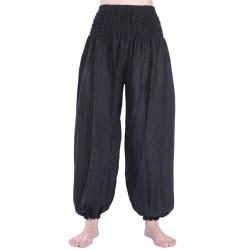Absolut4u Harems/Aladdin byxa oriental yoga dans Svart one size