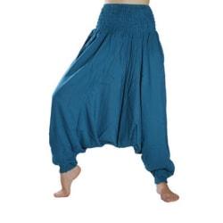 ABSOLUT4U  Harems byxa oriental yoga dans nöje. Blå one size