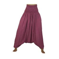 ABSOLUT4U  Harems byxa oriental yoga dans nöje. Gammal rosa one size