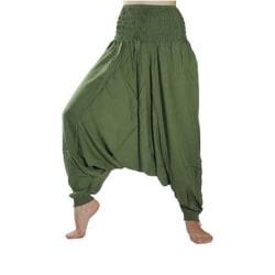 ABSOLUT4U  Harems byxa oriental yoga dans nöje. Grön one size