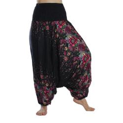 ABSOLUT4U  Harems byxa oriental yoga dans nöje. MultiColor one size