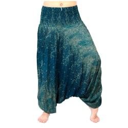 ABSOLUT4U  Harems byxa oriental yoga dans nöje. multifärg one size