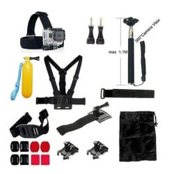 20 i 1 Utomhus Accessoarer Kit för GoPro Hero