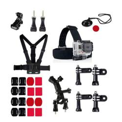 27 i 1 Utomhus GoPro Accessoarer Kit för GoPro Hero