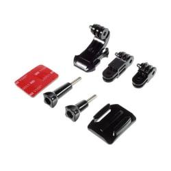6 i 1 Fäste Tillbehörs Kit för GoPro Hero Kamera Series
