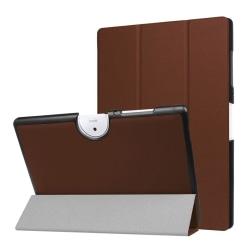 Acer Iconia Tab 10 B3-A40 Tvåfärgat vikbart fodral - Brun