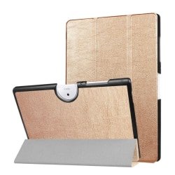Acer Iconia Tab 10 B3-A40 Tvåfärgat vikbart fodral - Guld
