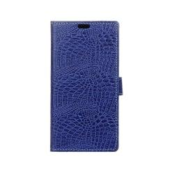Acer Liquid Zest Plus läderfodral med kortfack - Mörkblå
