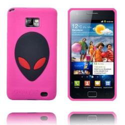 Alien Invasion (Het Rosa) Samsung Galaxy S2 Skal