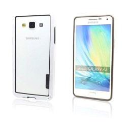 Alkio Samsung Galaxy A5 Bumper + TPU Skal - Vit