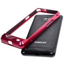 Aluminium Bumper för Samsung Galaxy S2 (Röd)