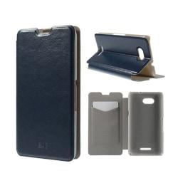 Amdrup Sony Xperia E4G med Plånbok - Mörk Blå