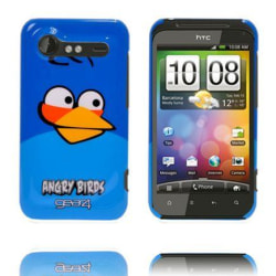Angry Bird HTC Incredible S Skal (Blå)