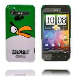 Angry Bird HTC Incredible S Skal (Grön Topp)