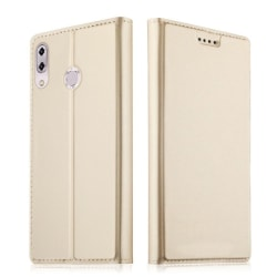 Asus Zenfone 5Z ZS620KL mobilskal i PU läder skyddande korth