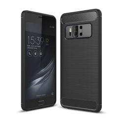 Asus ZenFone AR (ZS571KL) Enfärgat karbonfiber skal - Svart