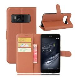 Asus ZenFone AR (ZS571KL) Fodral med plånbok - Brun