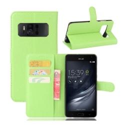 Asus ZenFone AR (ZS571KL) Fodral med plånbok - Grön