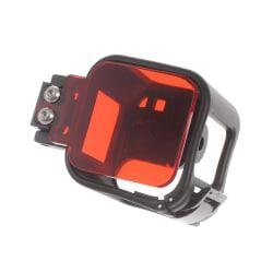 AT559 Skyddsskal med Röd Lens Filter för GoPro Hero4 Session