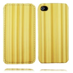Bamboo Look iPhone 4 Fodral (Gul)