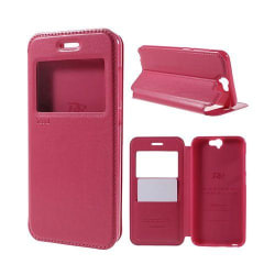 Bellmann View HTC One A9 Leather Case - Varm Rosa