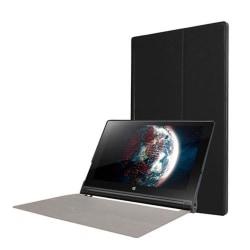 Bi-fold PU-läderfodral för Lenovo Yoga Tablet 3 10-tum - Sva
