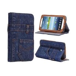 Blue Jeans (Mörkblå) Samsung Galaxy Tab 3 7.0 Skal